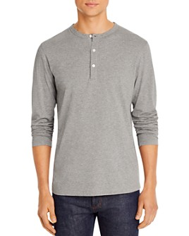 Theory - Melange Cotton Essential Henley