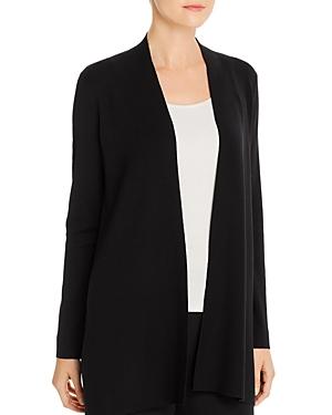 Eileen Fisher Petite System Merino Wool Open-Front Cardigan