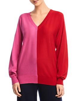 Bailey 44 - Simone Color-Block Cutout Sweater