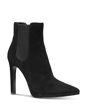 Michael Michael Kors Boots WOMEN'S BRIELLE HIGH-HEEL BOOTIES