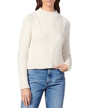 Sandro Sweaters ZALINA WOOL-BLEND SWEATER