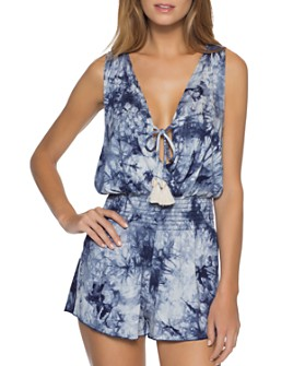 BECCA® by Rebecca Virtue - Tide Pool Dress Swim Cover-Up