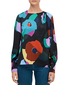 kate spade new york - Floral Collage Blouse