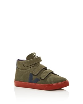 VEJA - Boys' Esplar Suede Mid-Top Sneakers - Toddler, Little Kid