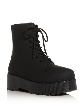 Jeffrey Campbell - Women's Torrent Lace-Up Platform Booties