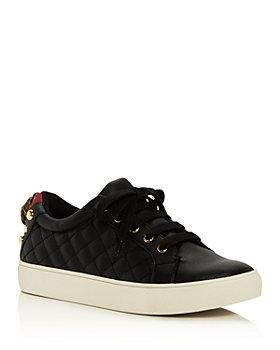 KURT GEIGER LONDON - Women's Ludo Quilted Low-Top Sneakers