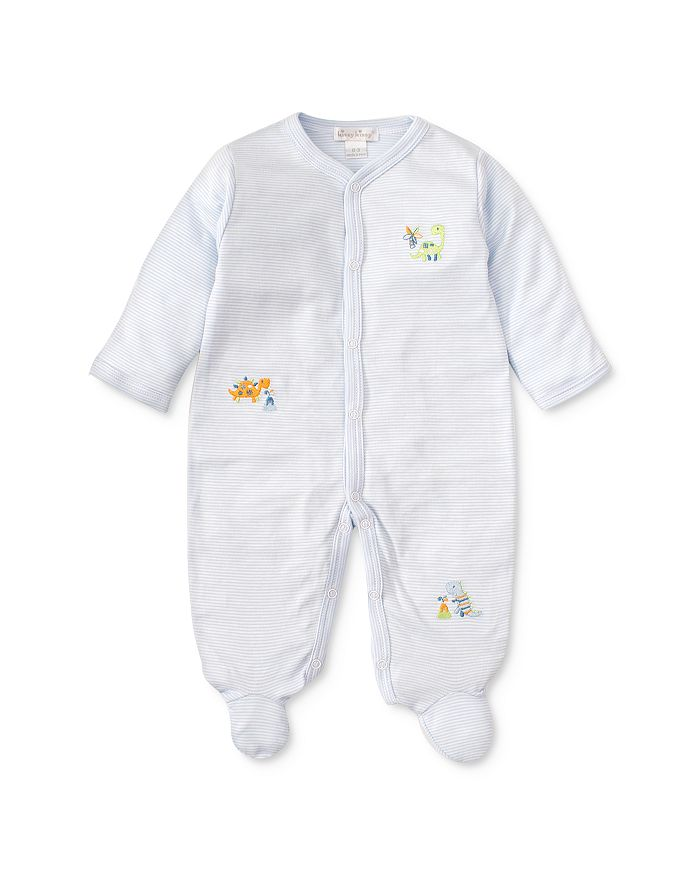 Kissy Kissy - Boys' Embroidered Dino Footie - Baby