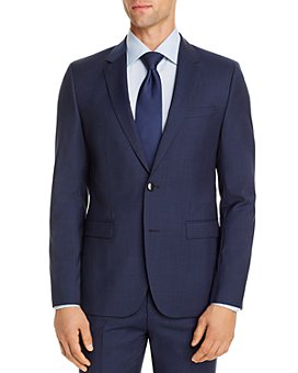 HUGO - Astian Micro Houndstooth Extra Slim Fit Suit Jacket