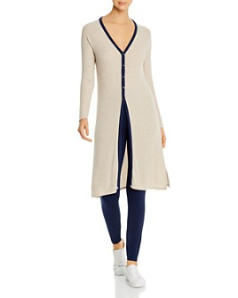 Three Dots - Ribbed Duster Cardigan