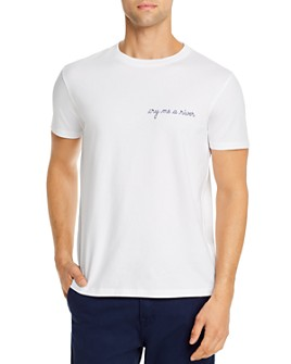 Maison Labiche - Water Heavy Embroidered Tee - 100% Exclusive