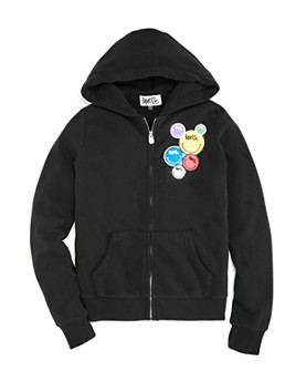 Butter - Girls' Love Me Patch Hoodie - Little Kid, Big Kid