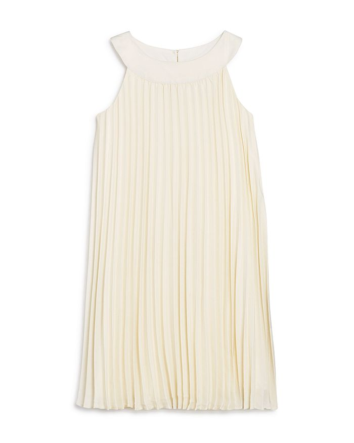 US Angels - Girls' Pleated Trapeze Dress - Little Kid