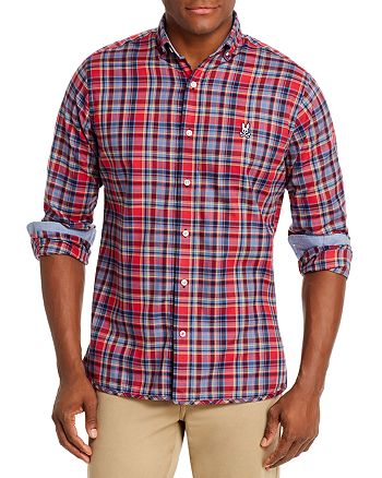 Psycho Bunny - Checked Classic Fit Shirt