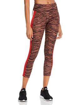 PAM & GELA - High-Rise Tiger Print Leggings