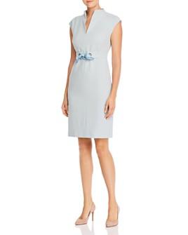 Max Mara - Delfina Tie-Detail Cotton Dress