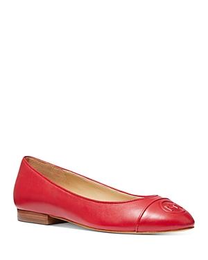 Michael Michael Kors Women's Dylyn Leather Ballet Flats
