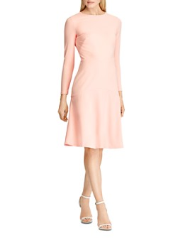 Ralph Lauren - Crepe Drop-Skirt Dress
