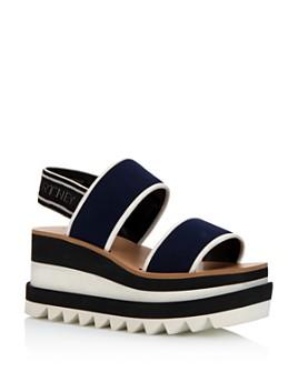 Stella McCartney - Women's Platform Slingback Sandals