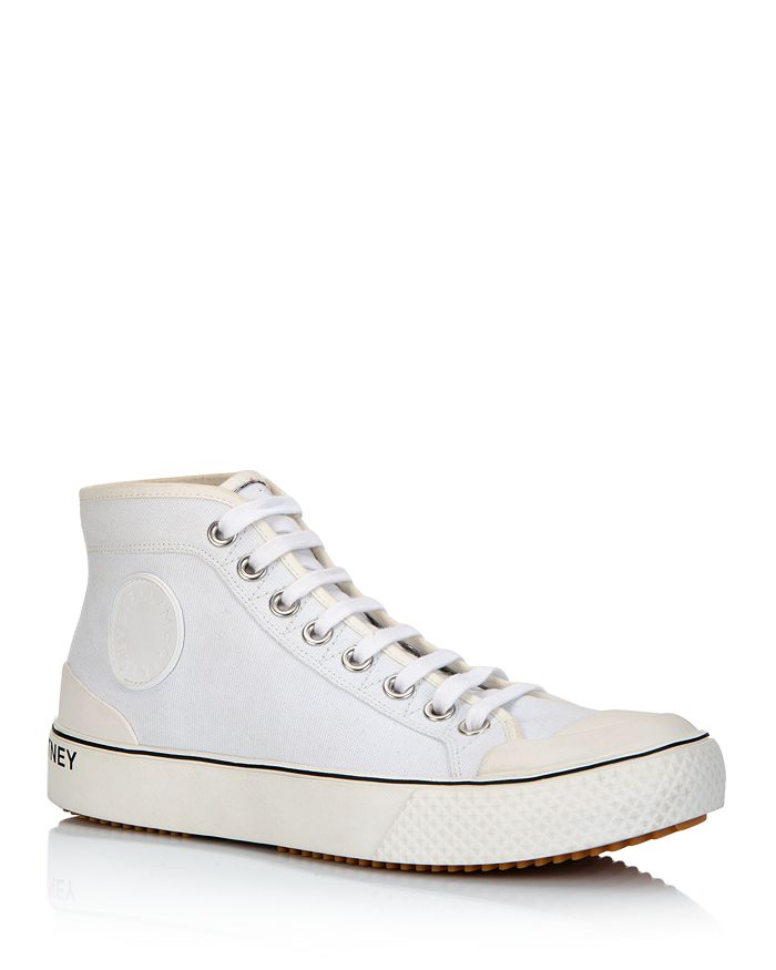 Stella McCartney - Women's Canvas High-Top Sneakers