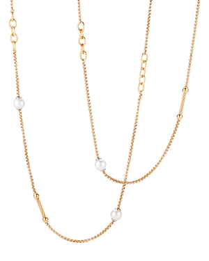Alor Cultured Freshwater Pearl Station Necklace, 36
