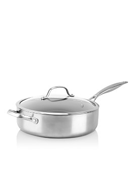 GreenPan - Venice Pro 5-Quart Ceramic Nonstick Covered Sauté Pan