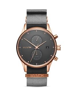 MVMT - Voyager Graphite Nylon Strap Watch, 42mm
