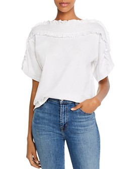 See by Chloé - Smocked Ruffled Top