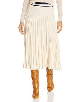 Tory Burch - Pleated Midi Skirt