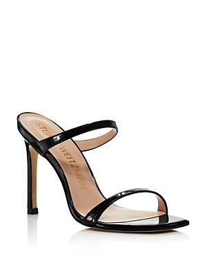 Stuart Weitzman Women\\\'s Aleena High-Heel Slide Sandals