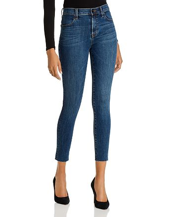 J Brand - Maria High-Rise Skinny Jeans in Revival