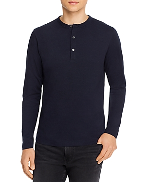 Theory Melange Cotton Essential Henley