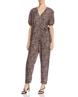 Joie - Prisha Printed Wrap-Front Jumpsuit