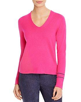 Fabiana Filippi - Brass Sleeve-Detail Cashmere Sweater