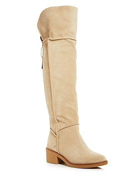COACH - Women's Janelle Shearling Over-the-Knee Boots