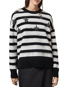 ALLSAINTS - Star Striped Sweater