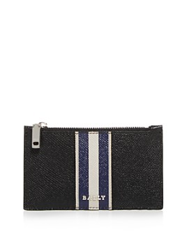 Bally - Babe Leather Zip Card Case