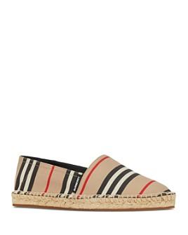 Burberry - Women's Icon Stripe Espadrille Flats