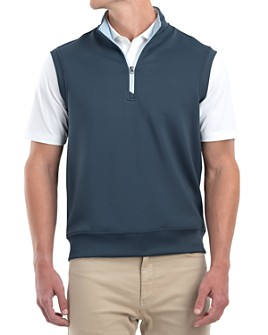 Johnnie-O - Quarter-Zip Vest