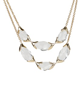 Alexis Bittar - Layered Pebble Bib Necklace