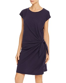 Velvet by Graham & Spencer - Gussie Side-Tie T-Shirt Dress