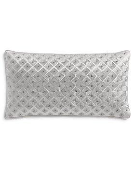 """Hudson Park Collection - Linea Ombre Decorative Pillow, 12"""" x 22"""" - 100% Exclusive"""