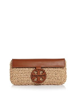 Tory Burch - Miller Straw Clutch