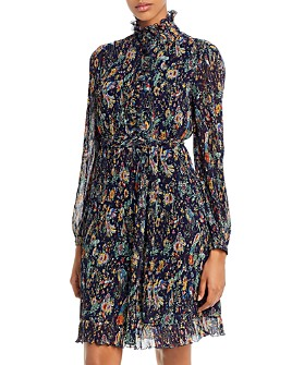 Tory Burch - Deneuve Pleated Ruffled Dress