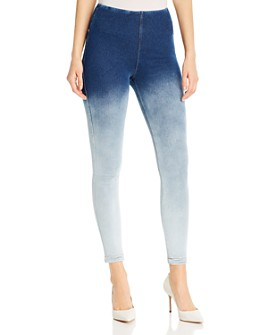 Lyssé - Legging Jeans in Ombré Blue