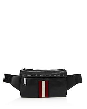 Bally Helvet Leather Belt Bag-Men