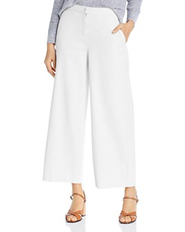 Eileen Fisher - Wide-Leg Ankle Pants