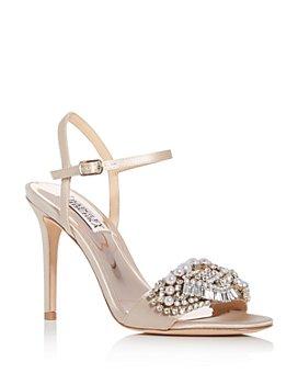 Badgley Mischka - Women's Odelia Embellished High-Heel Sandals