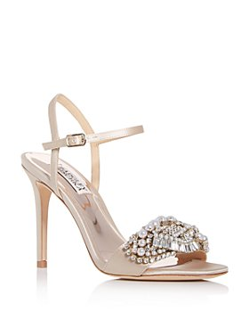 Badgley Mischka - Women's Odelia Embellished High-Heel Sandals