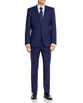 BOSS - Huge/Genius Small Check Slim Fit Suit