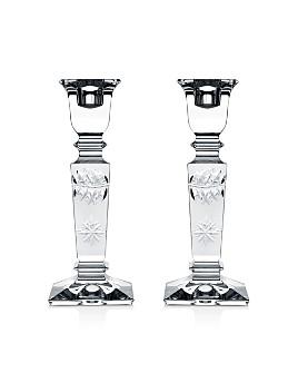 William Yeoward Crystal - Tessa Candlesticks, Set of 2